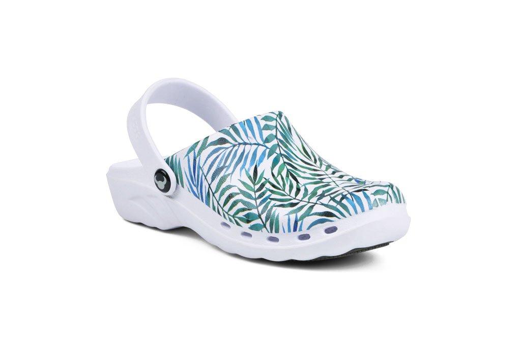 TROPICAL KLOMPE papuče Suecos za zdravstvo lake mekane medicinske (2)