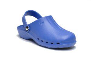 Oden Klompe plave papuce plave Suecos klompe