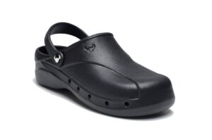 SKOLL klompe crne Suecos klompe crne papuče